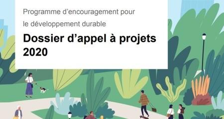 Appel à projets Programme d'encouragement 2020-2021