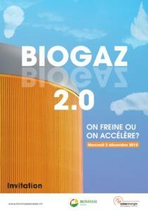 Séminaire Biomasse Suisse : BIOGAZ 2.0 - On freine ou on accélère ?
