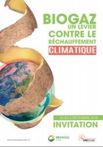 « Biogaz – un levier contre le réchauffement climatique ?» - Séminaire d'information 2019 de Biomasse Suisse