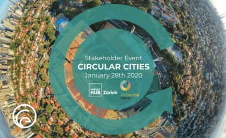28 JANVIER 2020 :  Circular Cities Stakeholder workshop à Zurich