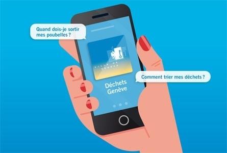 «Déchets Genève»: l'application gratuite qui simplifie le recyclage