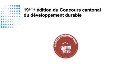 Rappel : Inscription au Concours cantonal du développement durable jusqu'au 31 mars