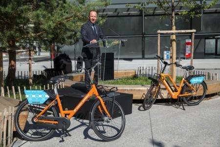 Genève inaugure ses vélos en libre service