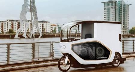 Ono: un véhicule conçu pour la logistique du dernier kilomètre