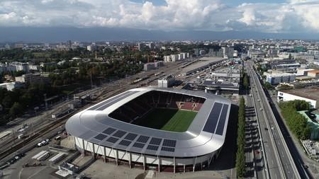 Une centrale solaire participative sur le Stade de Genève