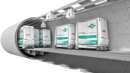 Le Conseil fédéral approuve le message concernant la loi fédérale sur le transport souterrain de marchandises