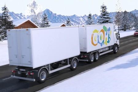 Le camion à hydrogène GoH! bientôt sur les routes genevoises