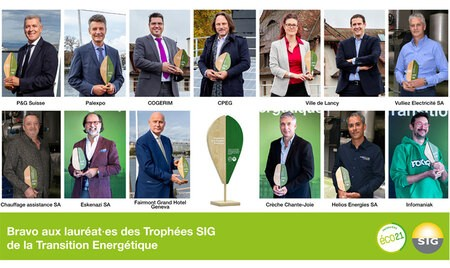 Les Trophées SIG de la transition énergétique 2019