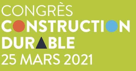Congrès Construction durable 2021 - Zéro émission nette - Chemins vers une construction neutre pour le climat