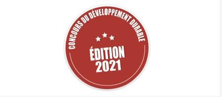 RAPPEL : Concours cantonal du développement durable 2021
