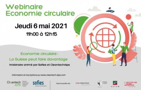 Webinaire Jeudi 6 Mai 2021 - Economie circulaire