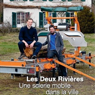 Une entreprise de scierie mobile valorise le bois local à Genève