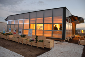 After its success at Solar Decathlon 2017, the Neighborhub comes back to Fribourg