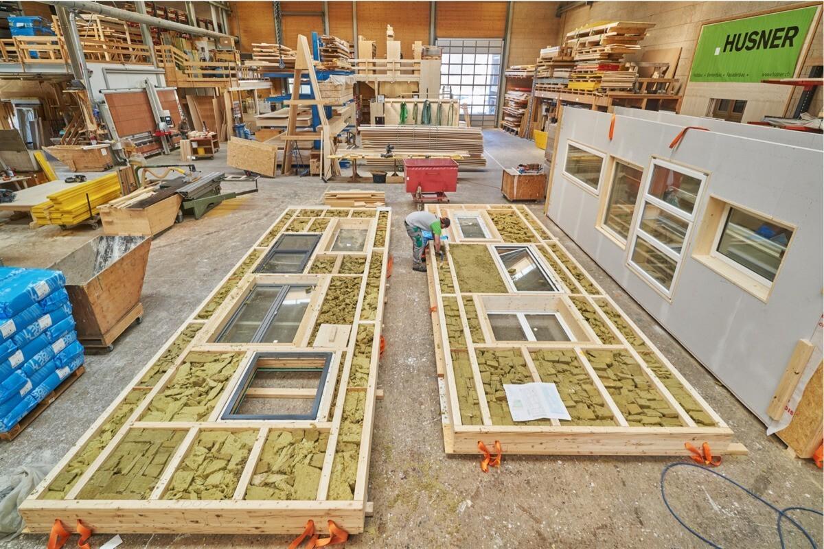 Réemploi dans la construction en Suisse