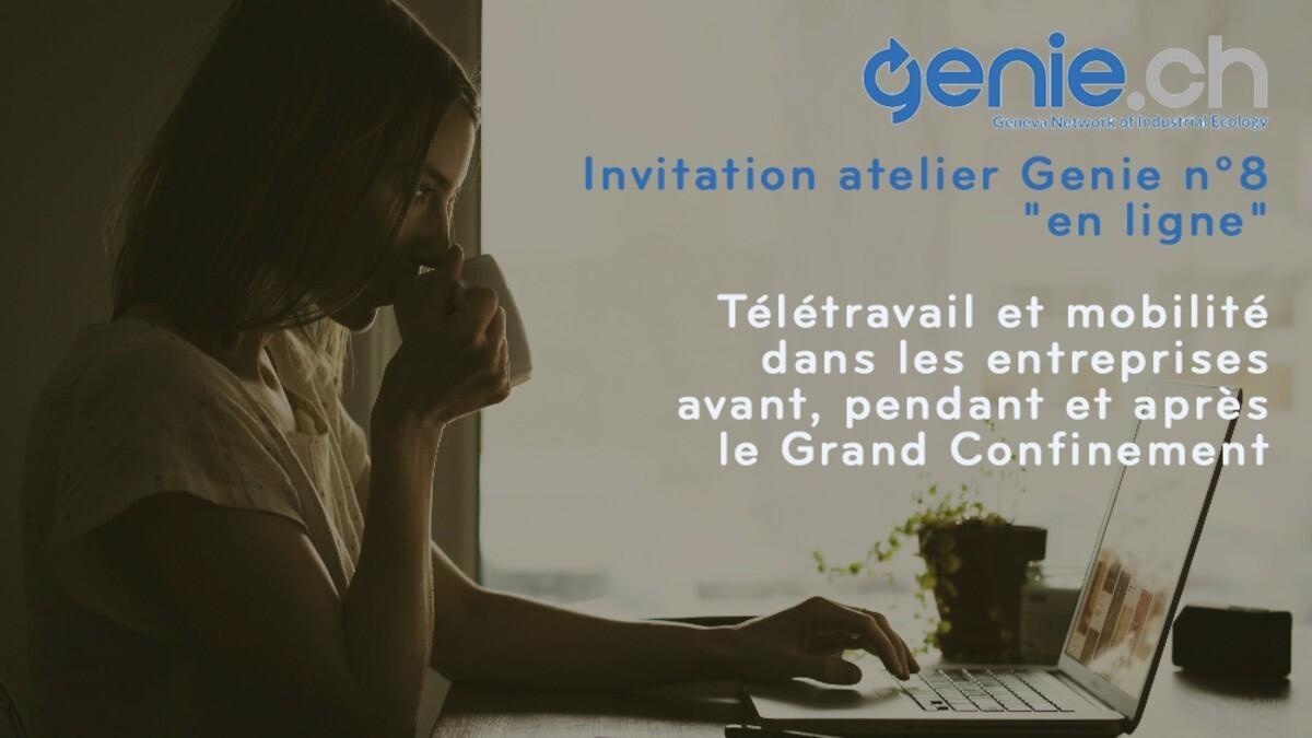 Compte rendu atelier n°8 Genie.ch  - Télétravail et mobilité dans les entreprises