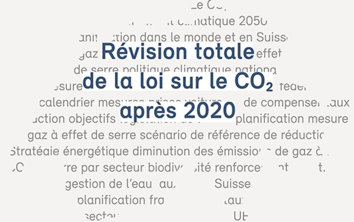 Risques et opportunités de la révision de la loi sur le CO2