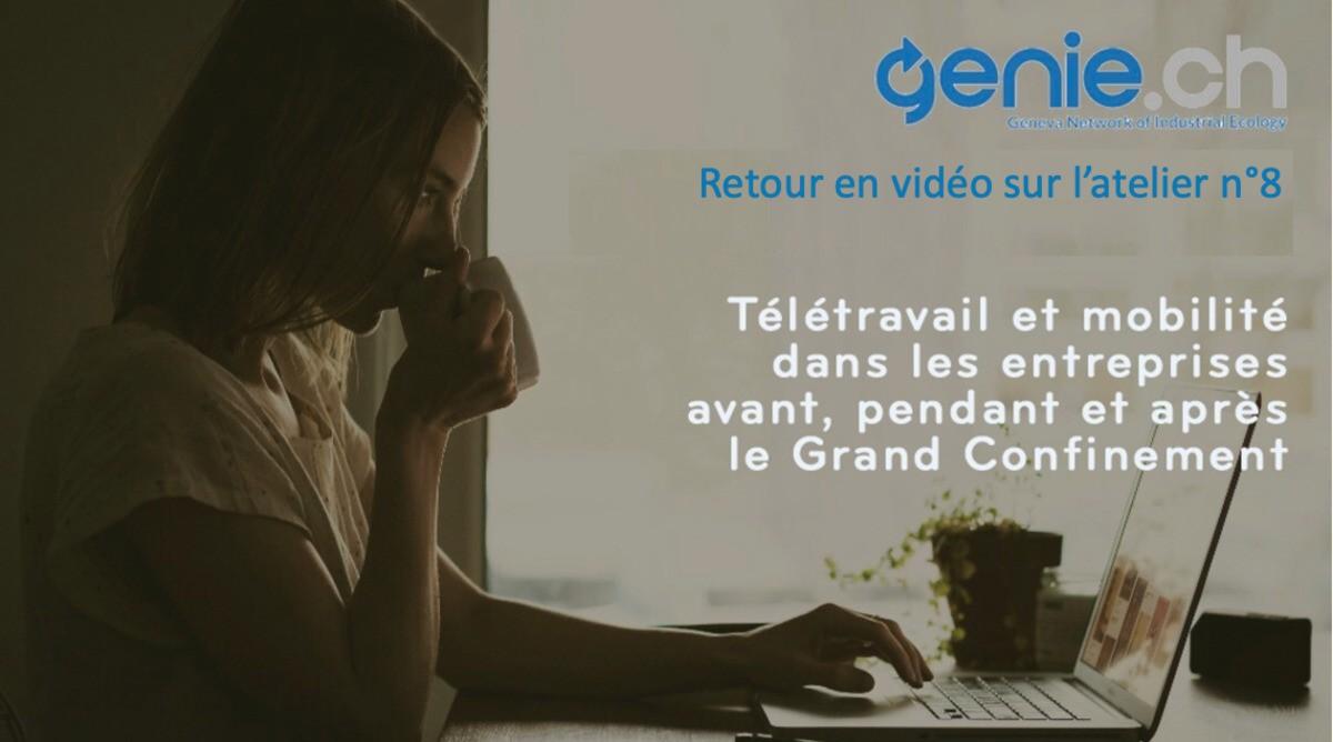 [Témoignages] - Retour en vidéo sur l'e-atelier n°8: Télétravail et mobilité dans les entreprises
