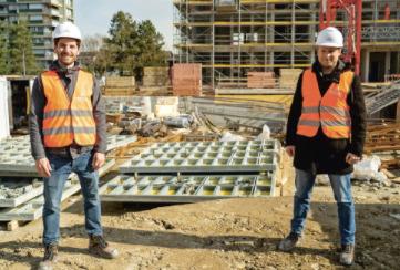 Du béton recyclé pour une construction plus durable