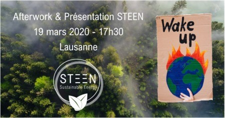 Afterwork & Présentation STEEN Sustainable Energy SA