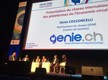 "GENIE.ch in the spotlight at the 2nd ""Grand Paris Circulaire"""