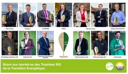 Les Trophées SIG de la Transition Energétique