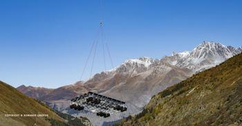 Romande Energie met en service le premier parc solaire flottant en milieu alpin